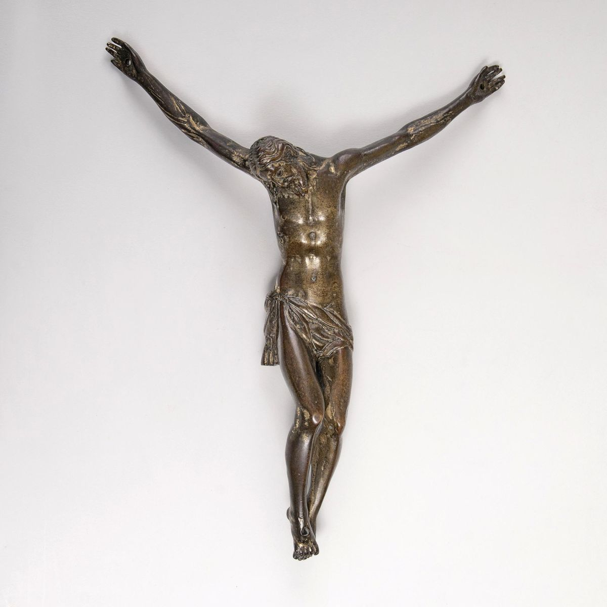 An early Bronze Figure 'Christ Crucified'