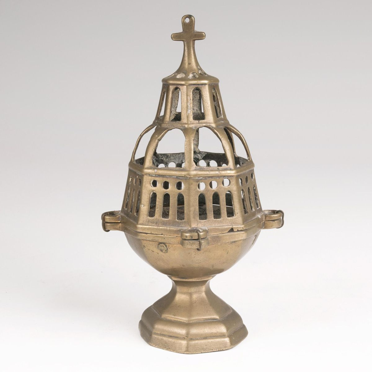 An early Baroque Brass Incense Burner