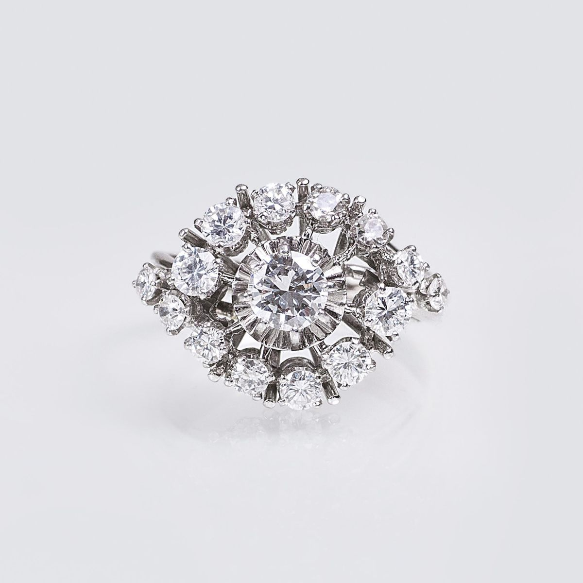 Vintage Brillant-Diamant-Ring