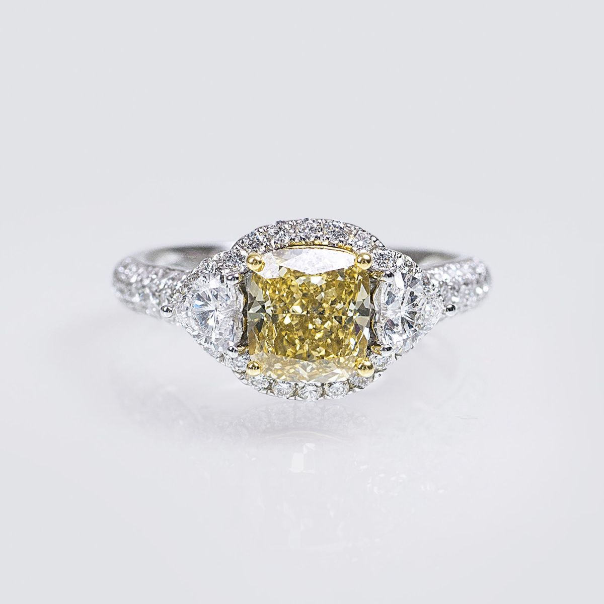 A highquality Natural Fancy Diamond Ring