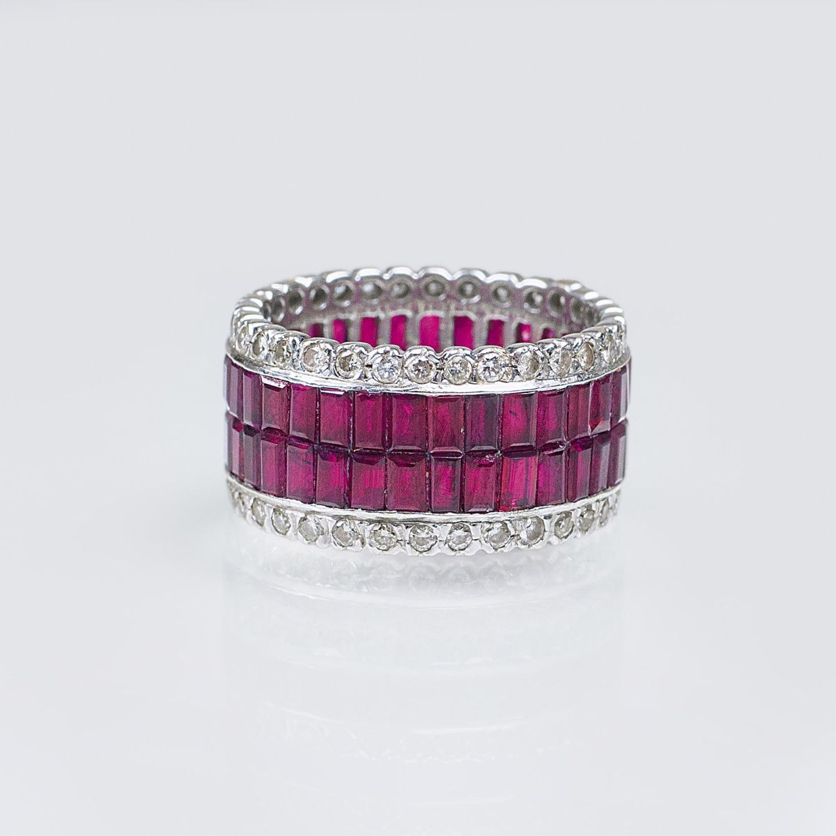 A Memory Ring with Rubies and Diamonds