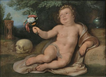 Vanitas with Putto