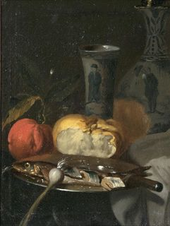 Still Life with Chinese Vase