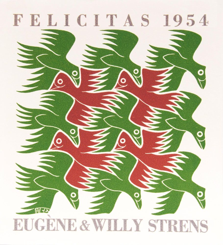 Eugène & Willy Strens Felicitas 1953 – 1956