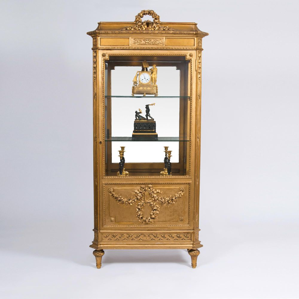 A Gilded Napoléon III - Display Cabinet