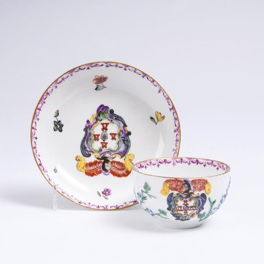 A Bowl with Coat of Arms