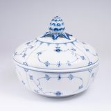 A Large Limited Royal Copenhagen Musselmalet Tureen with Lid