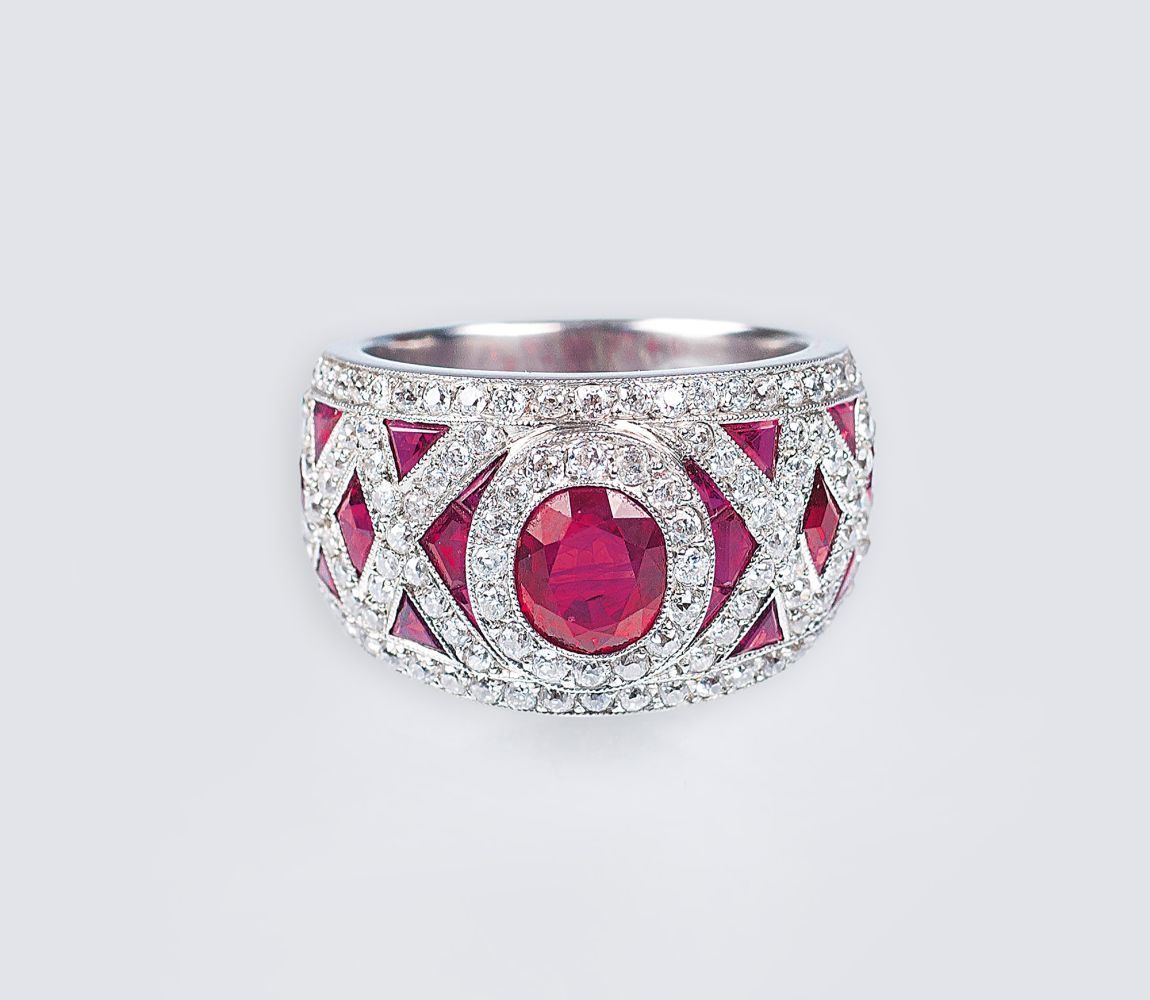 Rubin-Diamant-Ring
