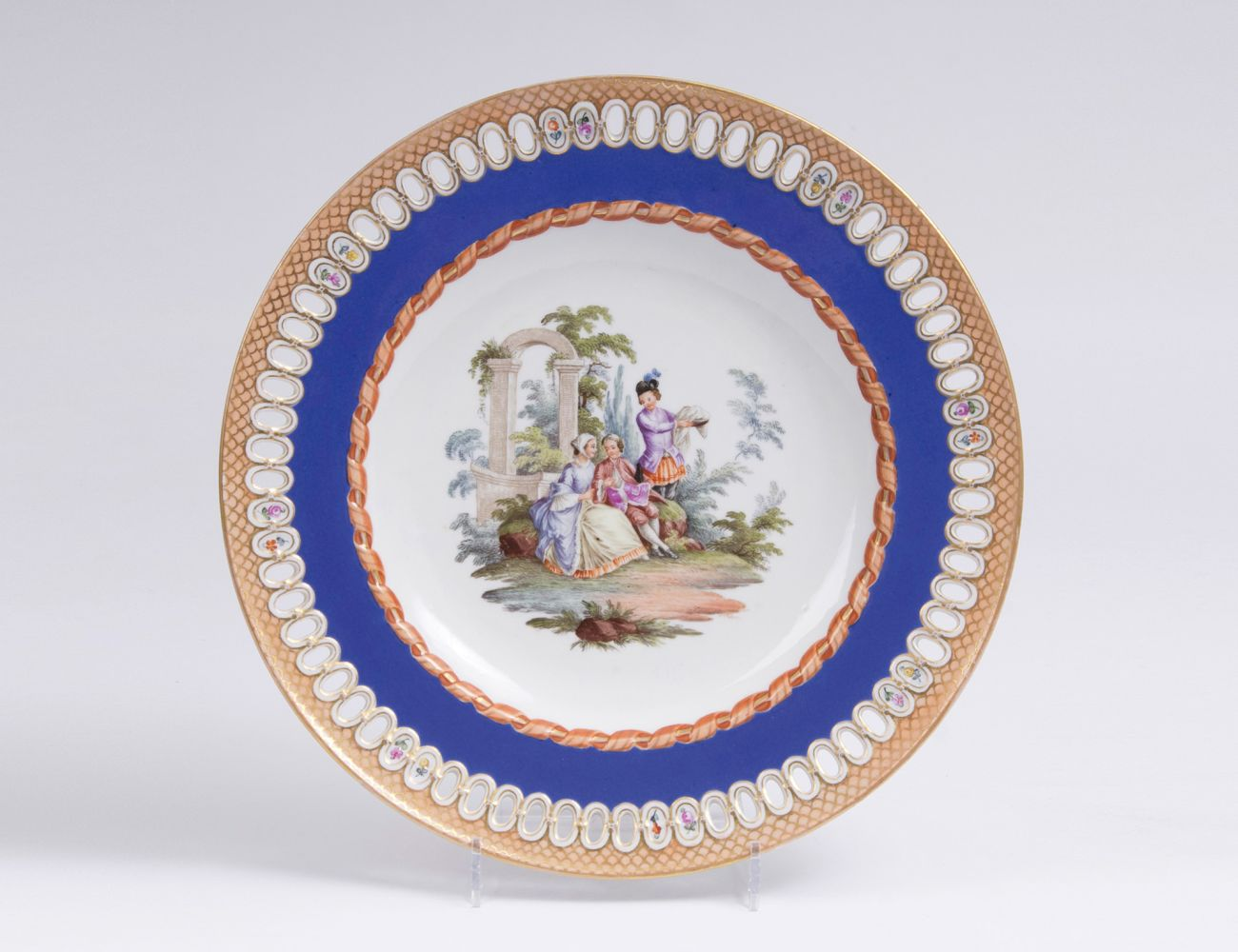 A Plate from the Service with the Blue Ribbon
