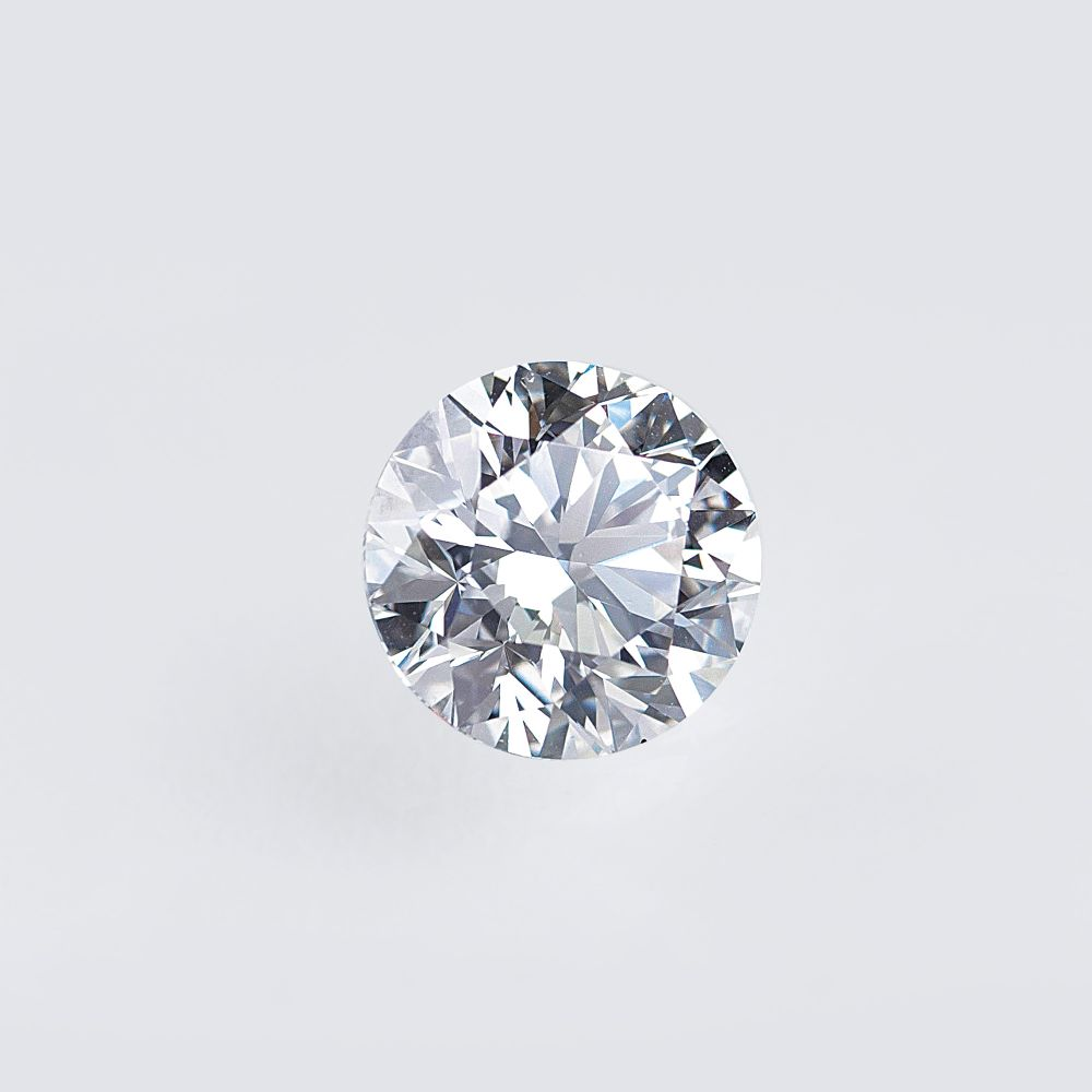 A highcarat loose Diamond