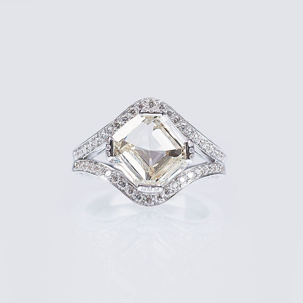 A Highcarat Diamond Ring