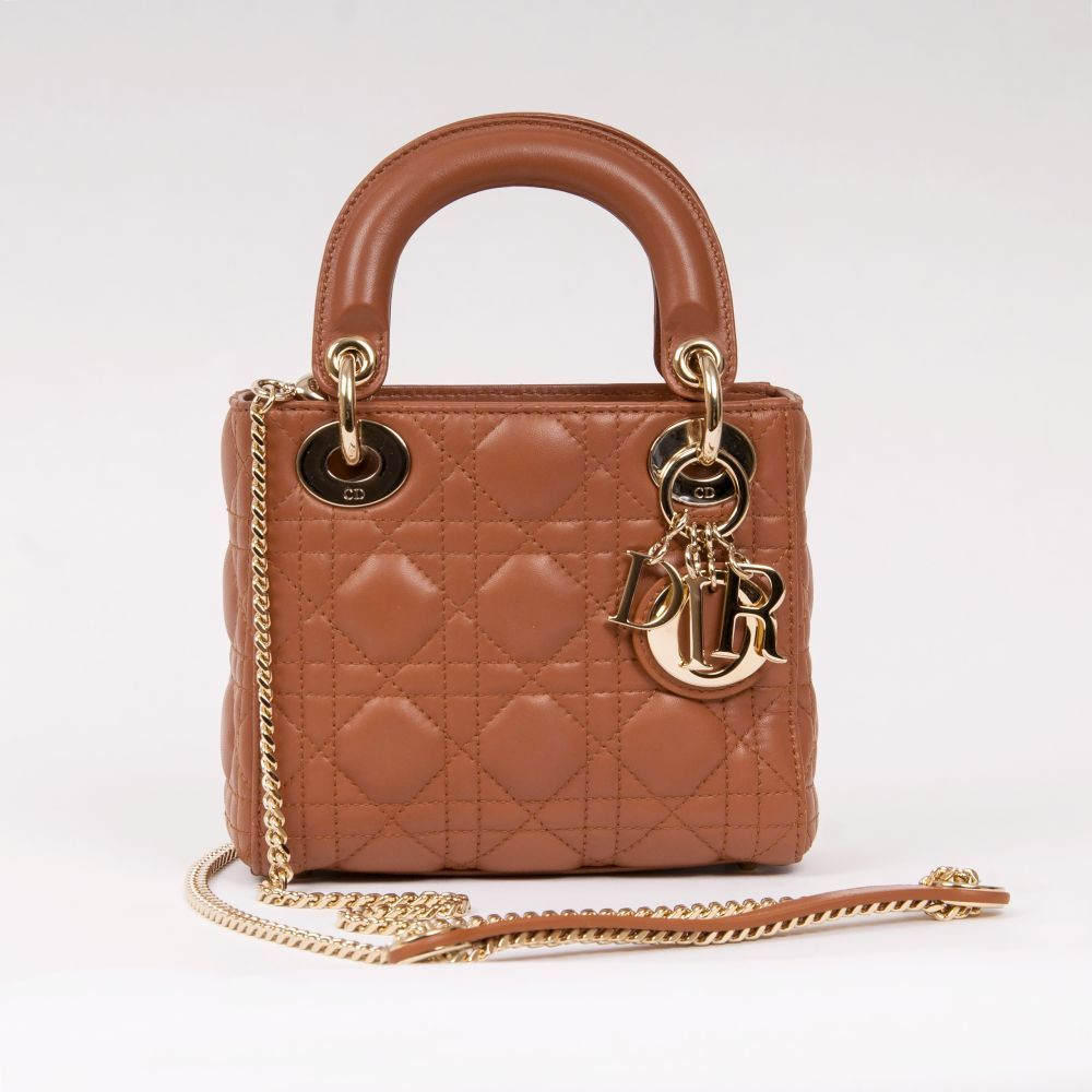 Lady Dior Bag Braun