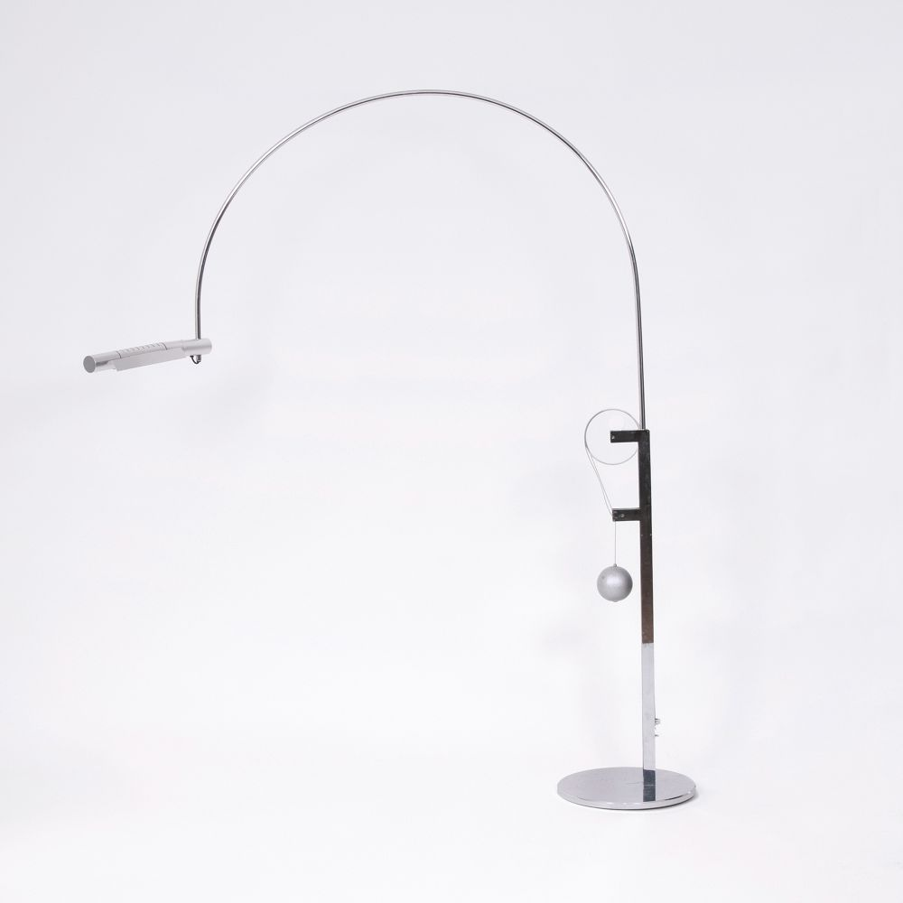 A Floor Lamp 'Halo Mobil'