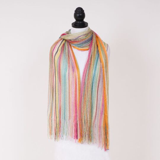 Scarf Gleaming Stripes