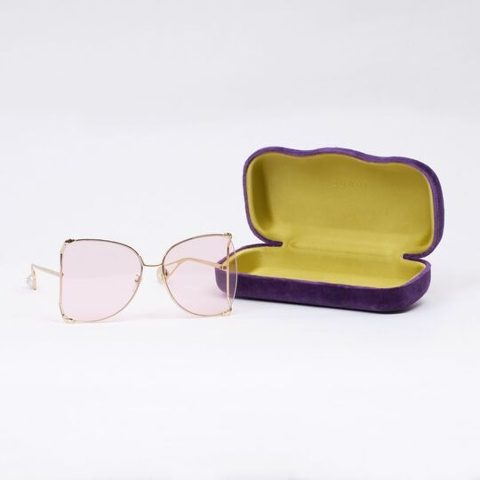 Oversized Rose Sunglasses 'Butterfly Style'