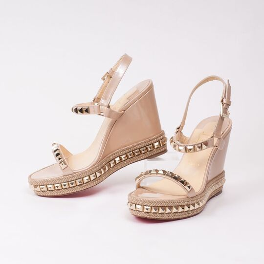 A Pair of Cataclou Studded Plateau Sandals