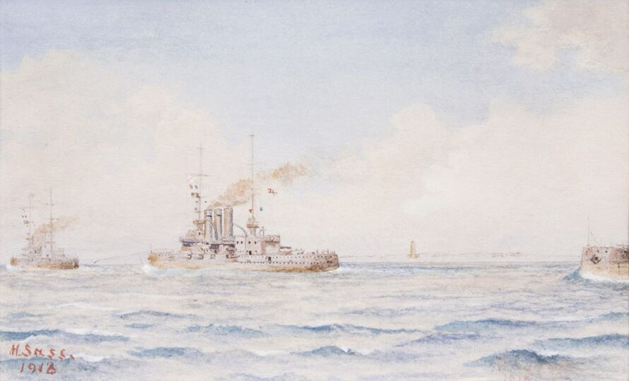 Three Marine Paintings