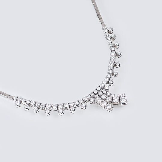 A highcarat Diamond Necklace