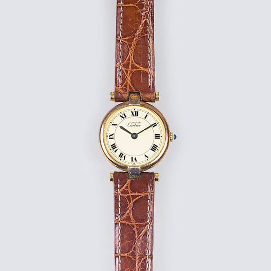 A Lady's Wristwatch 'Must de'