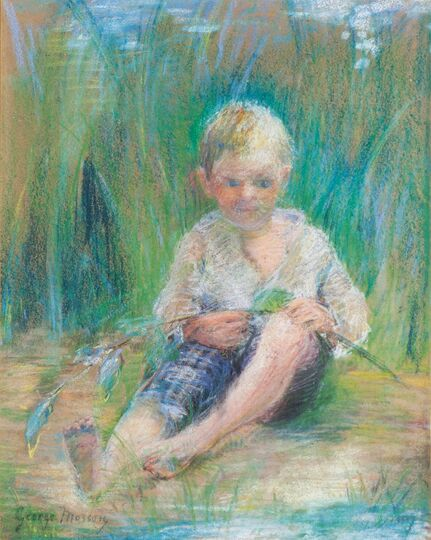 Boy in the Reed