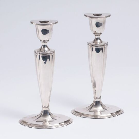 A Pair of classical Candleholders